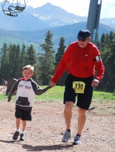 At La Sportiva race in Vail