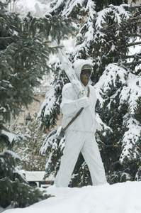 10th Mountain division statue Vail