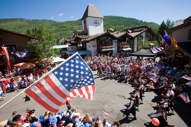 4th of July celebration in Vail, Colorado