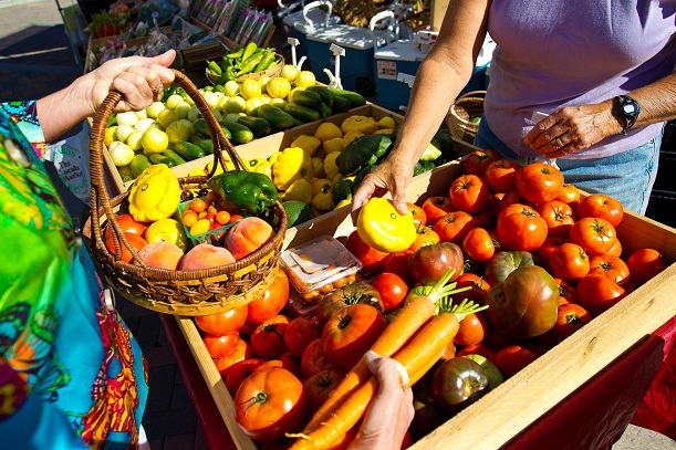 The largest farmers' market in Colorado