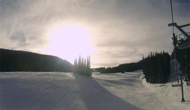 Groomed skiing in Vail