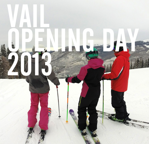 Pics and video of Vail Opening 2013