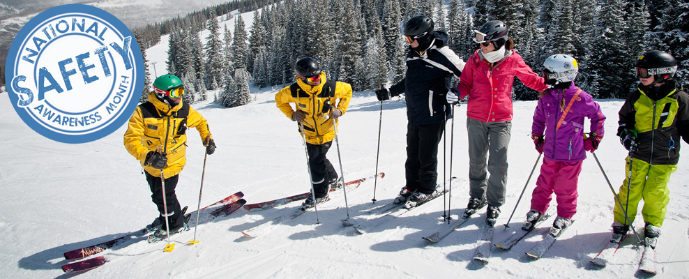 National Safety Awareness month at Vail