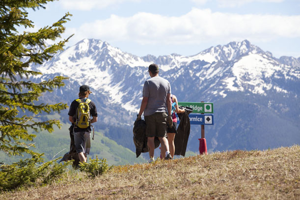 Vail summer cleanup