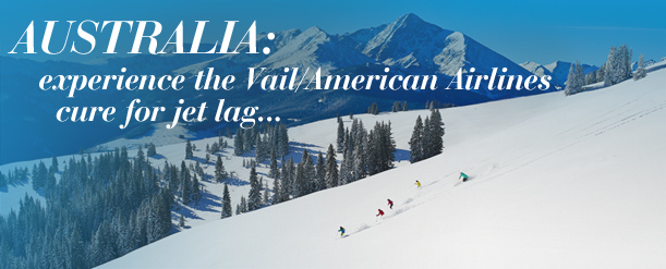Australia friendly flights to Vail