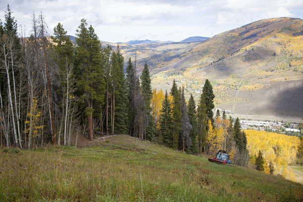 Vail prepares for winter. Photo: Andrew Taylor