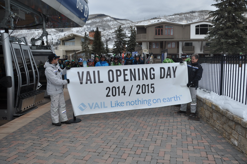 Vail opening