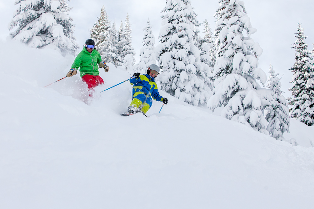 skiing in vail with your kids