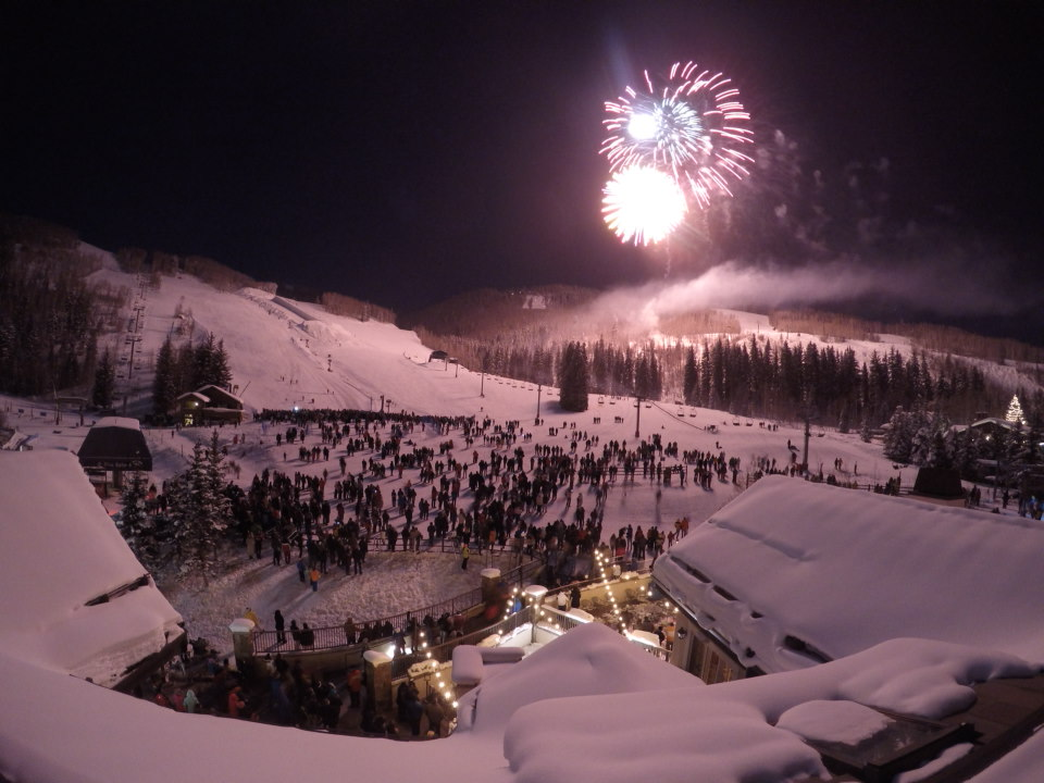 New Year's Eve in Vail, Colorado