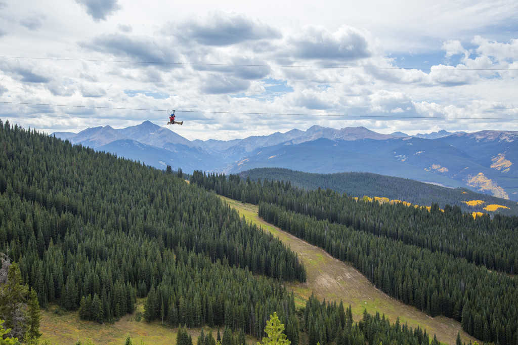 Epic Discovery zipline Vail Andrew Taylor