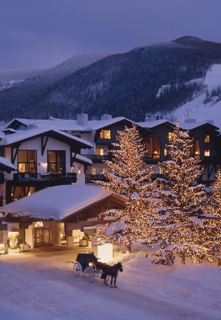 Christmas In Colorado Mountains.How To Celebrate The Holidays In Vail Blog Vail Comblog